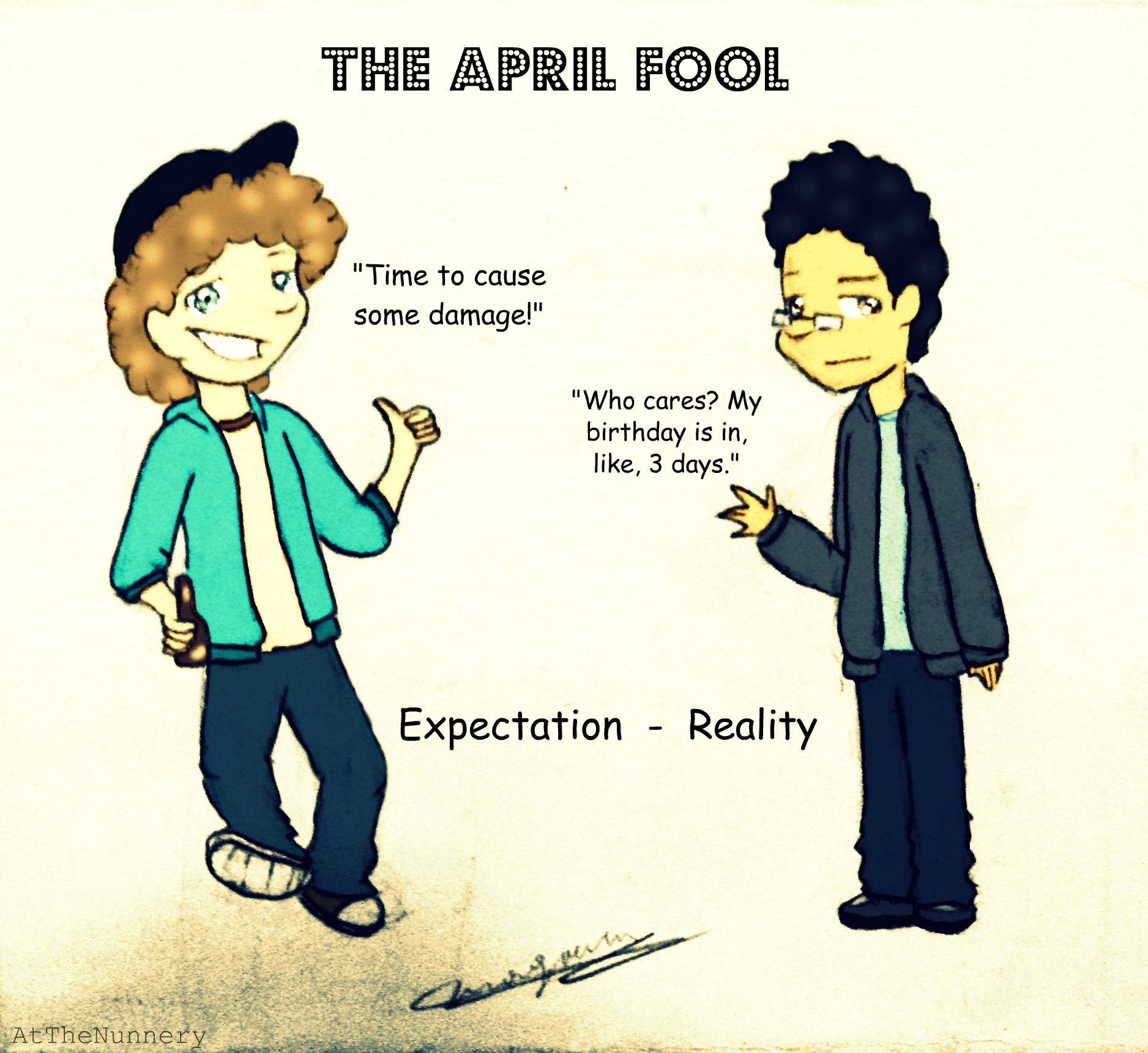 ATN April Fool's Day: Expectation vs. Reality